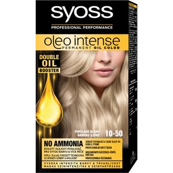 Syoss Color Oleo intenzív olaj hajfesték 10-50 hamvas szőke