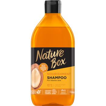 Nature Box sampon argán olajjal a puha hajért 385 ml