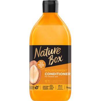 Nature Box balzsam argán olajjal a puha hajért 385 ml
