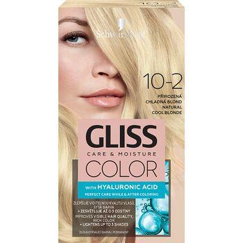 Schwarzkopf Gliss Color tartós hajfesték 10-2 Természetes hűvös szőke