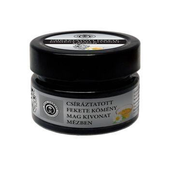 NaJa Forest Csiráztatott Csíráztatott fekete kömény mag kivonat mézben, magas polifenol és flavonoid tartalommal 200 gr
