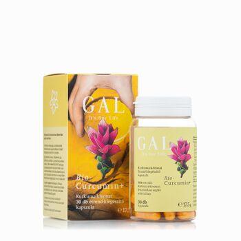 GAL Bio-Curcumin+ 225 mg 30 kapszula (GAL)
