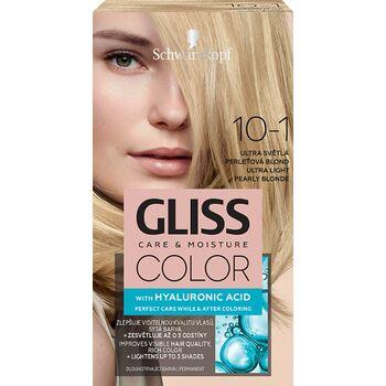 Schwarzkopf Gliss Color tartós hajfesték 10-1 Ultravilágos gyöngyszőke
