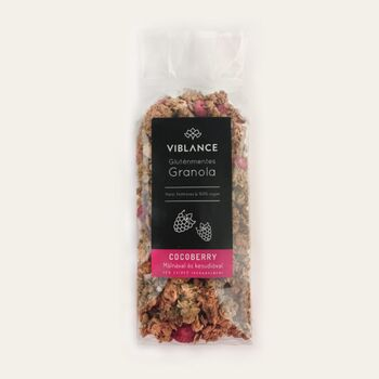 VIBLANCE Granola málnával és kesudióval 250 g