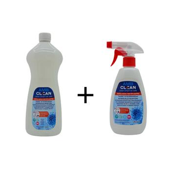 AMB Clean Fertőtlenítő Spray 500ml + Utántöltő 1l