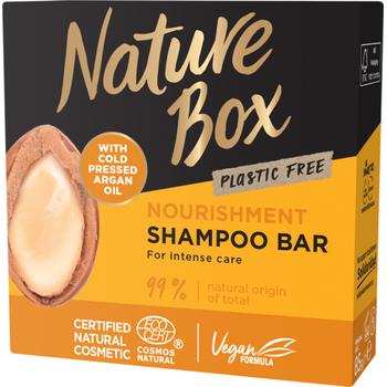 Nature Box szilárd sampon argán olajjal a puha hajért 85 g