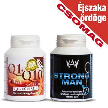 Celsus Éjszaka ördöge csomag( Q1+Q10 vItal + StrongMan)