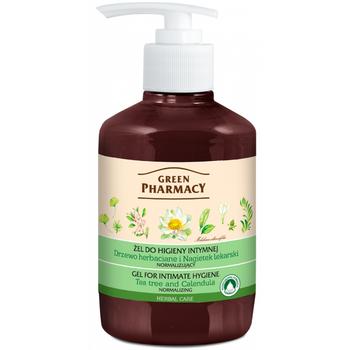 Green Pharmacy Intim mosakodó gél körömvirág és teafa 370ml