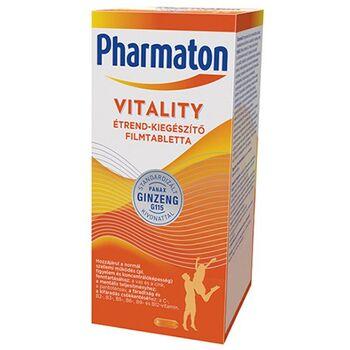Pharmaton Vitality étrend-kiegészítő filmtabletta 60 db