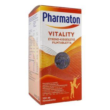 Pharmaton Vitality étrend-kiegészítő filmtabletta 100 db