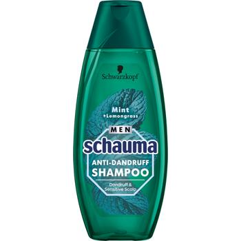 Schauma férfi sampon korpásodás ellen mentával & citromfűvel 400 ml