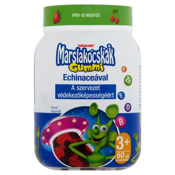 Marslakócskák gummivitamin Echinaceával 60 db